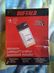 Buffalo Wireless 54Mbps Cardbus Notebook Adapter - Unopened