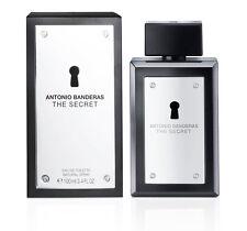 Men The Secret by Antonio Banderas EDT Spray 3.4 oz  Brand new Sealed