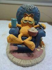 "1992 Danbury Mint Garfield "" Sittin Pretty "" Very Detailed Figure"