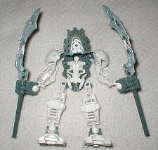 Lego Bionicle STARS TAKANUVA (7135) Complete Figure + GOLD PIECE