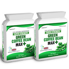 Green Coffee Bean Max Extreme Extract 180 Capsules Weight Loss Dieting Free Tips
