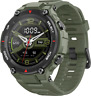 AmazFit T-Rex 1.3'' Smartwatch 12 Military Certifications Rugged Body Army Green