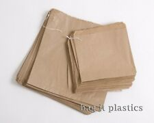 More details for paper bags strung brown & white kraft food sandwich takeaway grocery bag