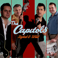CD The Capitols - Styled & Wild - GENE VINCENT TRIBUTE BAND - great ! New