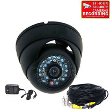 Dome Security Camera w/ SONY CCD Outdoor IR Day Night 600TVL Wide Angle CCTV me1