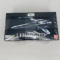 X-Wing Starfighter Vehicle Model 002 Plastic Model Kit Star Wars Bandai