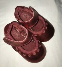 NIKE - BABY GIRL CHRISTMAS RED SHOES - NEW - GENUINE - SIZE 1.5UK BABY - VELCRO