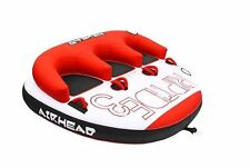 Airhead Riptide 3 Triple Rider Inflatable Boat Towable Backrest Tube | AHRT-13