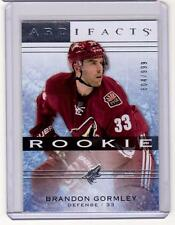 BRANDON GORMLEY 14/15 Artifacts Rookie RC #131 #d /999 SP Phoenix Coyotes Card