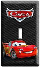 New Cars 3 Lightning Mcqueen Disney Single Light Switch Boys Bedroom Decoration