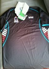 NEW NRL LICENSED BOYS KIDS PENRITH PANTHERS TRAINING JERSEY SZ 14