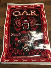 O.A.R. House of Blues concert poster