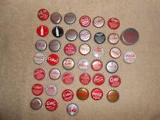 Coca-Cola--Lot of 41--Coca-Cola Coke Soda Bottle Caps
