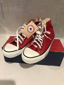 Chuck Taylor All Star Converse All Star M9621 Red NWT Mens 8.5 Women's 10.5