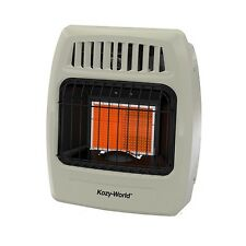 Kozy World 10,000 BTU Plaque Infrared Natural Gas Wall Heater