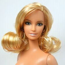 Nude Barbie CITRUS OBSESSION silver label blonde DOLL
