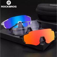 ROCKBRS Cycling Polarized & Photochromic Glasses Full Frame Outdoor UV400Goggles
