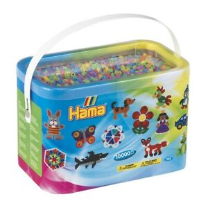 Hama Beads Bucket 10000 Beads Craft Beads for Jewelery or Ironing