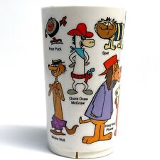 Vintage 1978 Hanna Barbera Plastic Cup • Cb Bears, Quick Draw, Doggie Daddy More