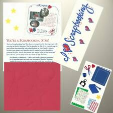 Mrs Grossman's & Creative Memories - TTY Kit - SCRAPBOOKING Stickers & Die Cuts