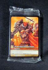 (25) World of Warcraft WoW TCG Ring of Blood: The Warmaul Champion Extended Art