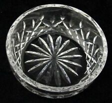 "WATERFORD Crystal LISMORE 5"" Salad Bowl From Estate Excellent"