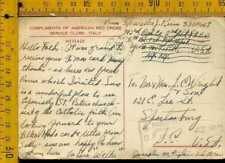 Regno WW2 franchigia prigionieri di guerra croce rossa America in Italia lj 1012