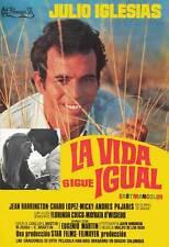 LA VIDA SIGUE IGUAL Movie POSTER 27x40 Spanish