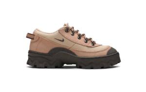 Nike Lahar Low Canvas Grain Hemp Smoke Orange Shoes Sneakers Women's Size 10.5