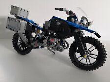 Moto BMW R 1200 Gs Adventure Lego Technic 42063 jeu construction - Envoi rapide