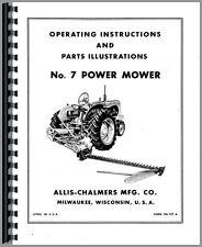 Allis Chalmers Tractor Operators Manual Miscellaneous
