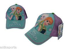 Berretto Frozen Elsa e Anna Originale Disney Violetto Cappello Cappellino 54 cm