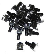 Interruptor plano pulsador / Tactile Switch 6x6x11mm 4 pin x20 units