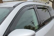 In-Channel Wind Deflectors for a 2013-2020 Nissan Pathfinder