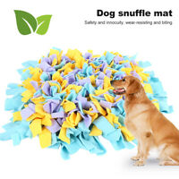 Green House Dog Snuffle Mat Pet Puzzle Toy Sniffing Training Pad Washable 45cm