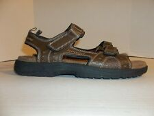 "Mens Size 11M St. John's Bay ""Mansel"" Brown Sport Sandals"