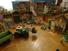 5119 Grande Ferme avec silo Playmobil, tracteur + maison des fermiers  offerte e084fe1a7b3a