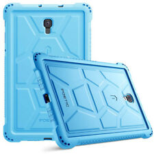 "For Galaxy Tab A 10.5"" [Shockproof] w/Drop Protection Silicone Case Cover Blue"