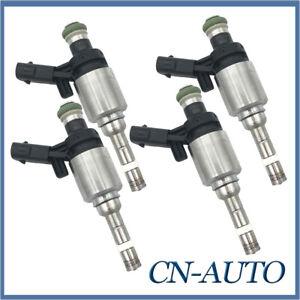 4Pcs Fuel Injector Set For Audi A3 S3 VW Tiguan Golf GTI VI 6 2.0L TSI 2009-2013