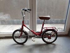 Cute Foldable vintage children bike! Vélo enfant vintage pliable rouge!