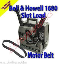 Bell & Howell 1680 Cinturón de proyector de cine de 16mm con ranura de carga (Cinturón de motor principal)