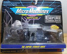 VINTAGE 1993 MICRO MACHINES STAR WARS TIE AT-AT SNOWSPEEDER ESB BY GALOOB NIP