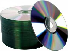 50 pcs Blank CD-R CDR 52X 700MB / 80Min Shiny Silver Top Recordable Disc