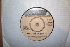 FRANK SINATRA,  POCKETFUL OF MIRACLES,  REPRISE RECORDS 1961  EX