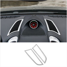 FOR Porsche Cayenne 2011-2017 ABS dashboard L&R air outlet vent cover trim 2pcs