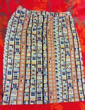 YUMI Funky Retro 'block of flats' Print Pencil Skirt. Size 14