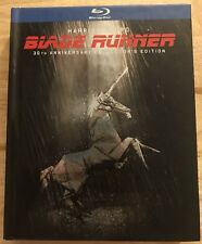 BLADE RUNNER BLU RAY 3 DISC SET 30TH ANNIVERSARY EDITION RARE OOP DIGIBOOK FORD