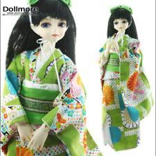 """Dollmore 17"""" 1/4 BJD dress MSD - Charming Kimono (Green"""