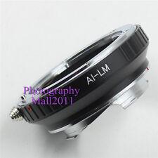 New AI-LM Adapter For Nikon AI Lens to Leica L/M M9 M8 M7 M6 M5 TECHART LM-EA7