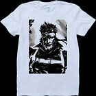 Snake Metal Gear Solid White, Custom Made T-Shirt